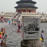 le BIB en Chine sur la place du temple du ciel