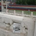 le BIB au temple du ciel Pekin